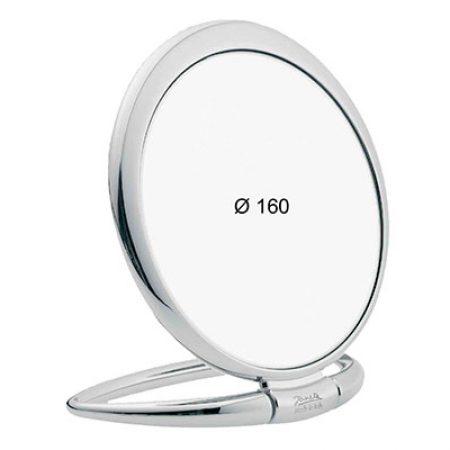Зеркало настольное хром Увеличение x3 Диаметр 170 Код CR443.3