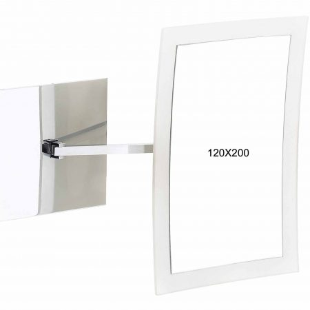 Wall mounted mirror Diameter 120x200mm Cod. 190.01
