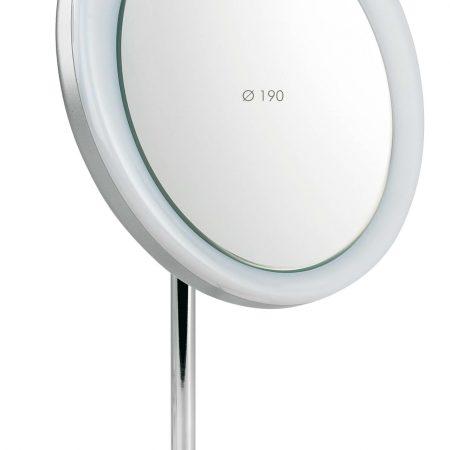Зеркало настольное на подставке Увеличение x3 Диаметр 190 Код 197.01.3 LED