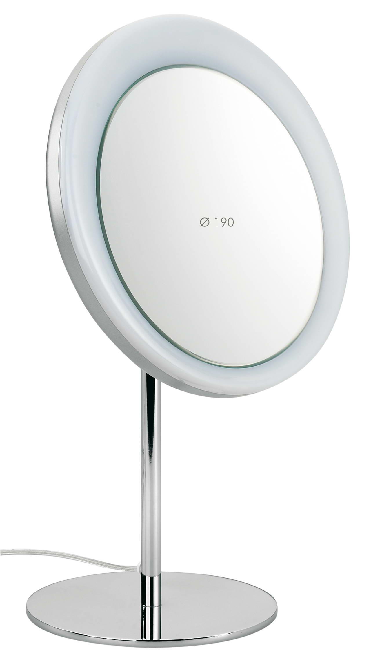 Specchio da toeletta da appoggio ingrandimento x3 diametro - Specchio ingrandimento ...