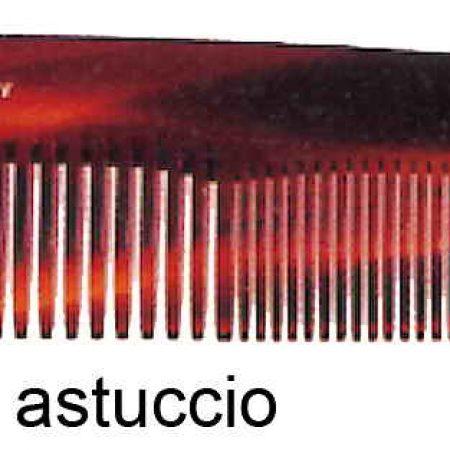 Мужская карманная расчёска в футляре имитация под черепаху Код 26133