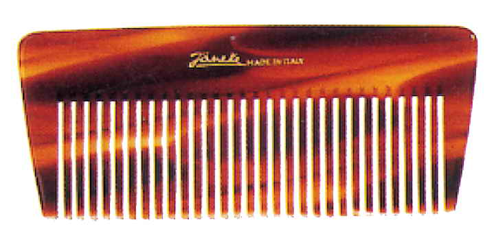 Thick tortoise hand-bag comb Cod. 26245