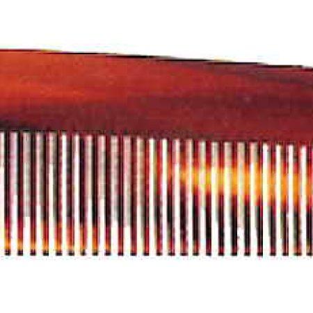 Расчёска с часто-редкими зубьями имитация под черепаху Код 26253