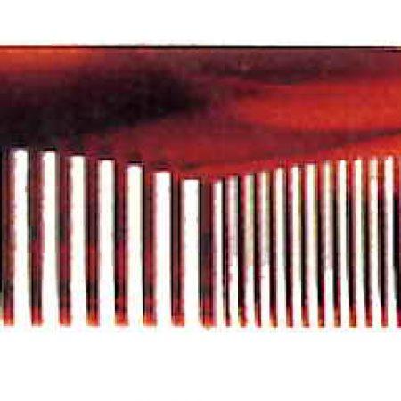 Расчёска с часто-редкими зубьями имитация под черепаху Код 26640