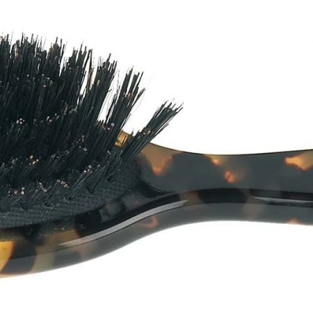 Spotted handbag brush with bristles Cod. 27213S