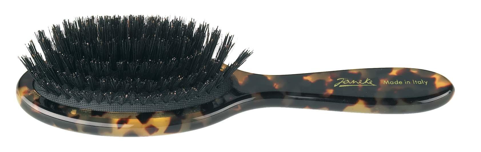 Spotted handbag brush with bristles Cod. 27213S