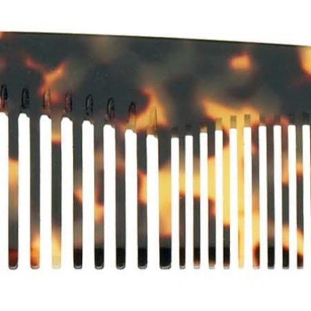 Расчёска большая ручной работы с пятнистой отделкой Код 27666