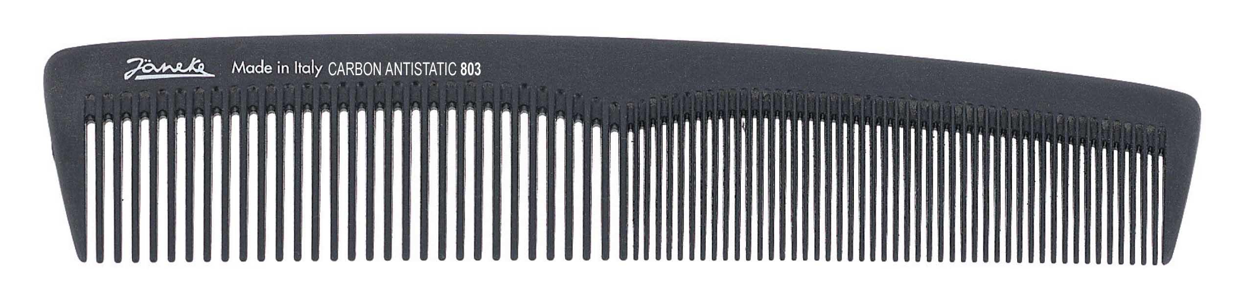 Расчёска карбоновая Код 55803