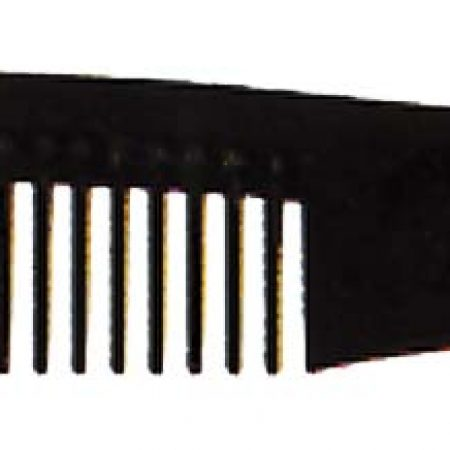 Расчёска-вилка с редкими зубьями 21см Код 57806