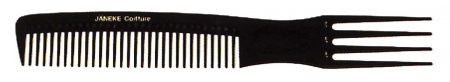 Wide-teeth comb with pick 21 cm Cod. 57806