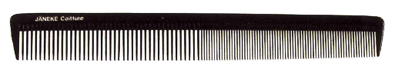 Расчёска Волнистые волосы с часто-редкими зубьями 21,5см Код 57819