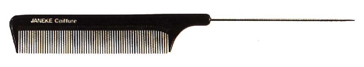 Рассчёска с металлическим хвостиком 21см Код 57821