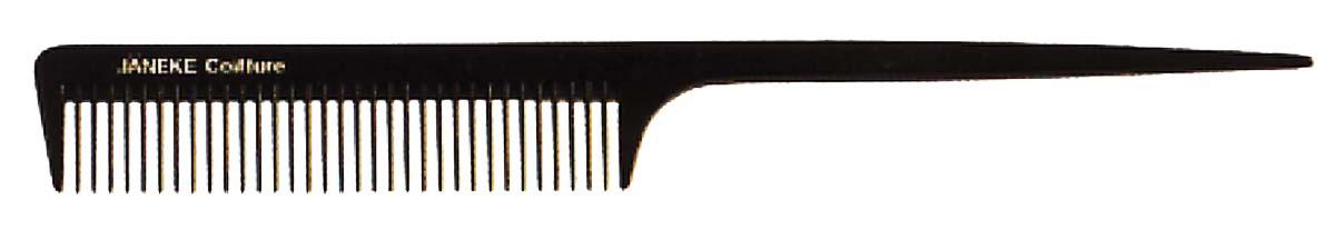 Расчёска-хвостик с редкими зубьями 21см Код 57822