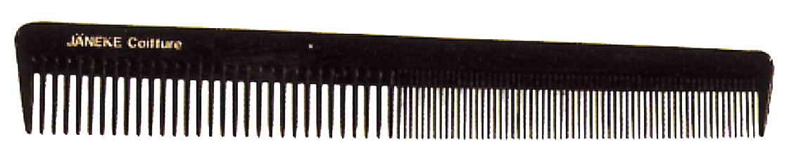 Расчёска короткая Волнистые волосы 19см Код 57824