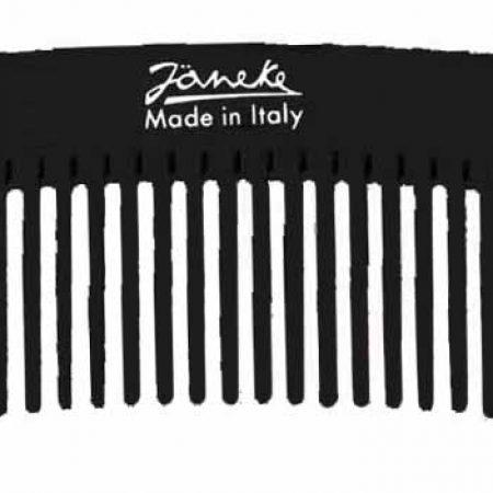 Расчёска с редкими зубьями для создания причёски чёрная Код 57855
