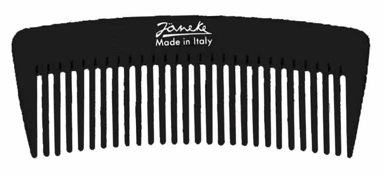 Wide-teeth styling comb 12 cm Cod. 57855