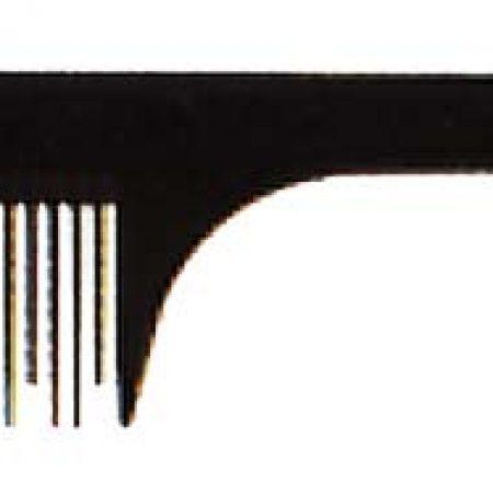 Расчёска с тонким хвостиком с редкими зубьями 21см Код 57861