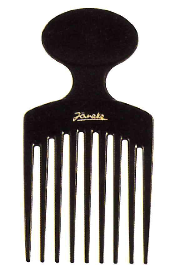 Расчёска-гребень Афро с девятью зубьями 12см Код57878