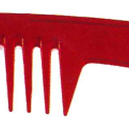 Расчёска с ручкой с редкими зубьями 22см Код 59802