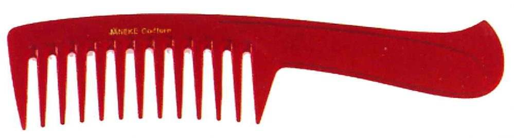Wide teeth comb with handle 22 cm Cod. 59802