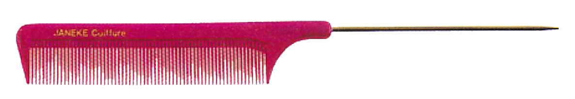 Comb with metal tail 21 cm Cod. 59821