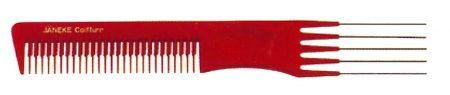Расчёска-вилка с металлическими зубьями 19,5см Код 59877