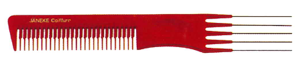 Comb with metal pick 19,5 cm Cod. 59877