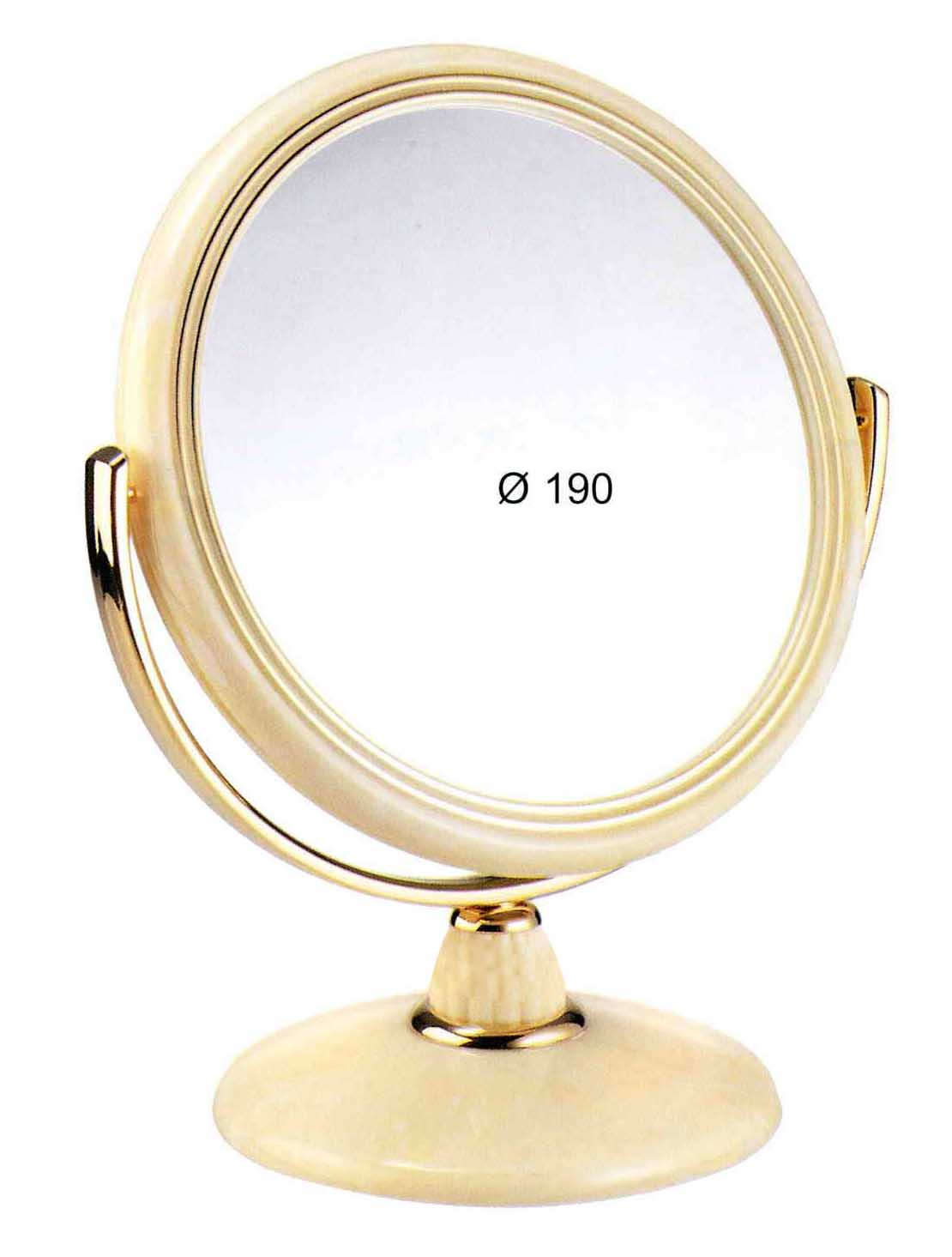 Specchio da tavolo imitazione corno ingrandimento x3 - Specchio ingrandimento ...