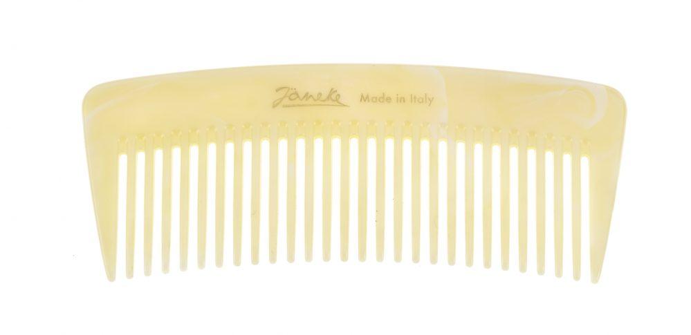Wide-teeth comb, horn imitation Cod. 74855