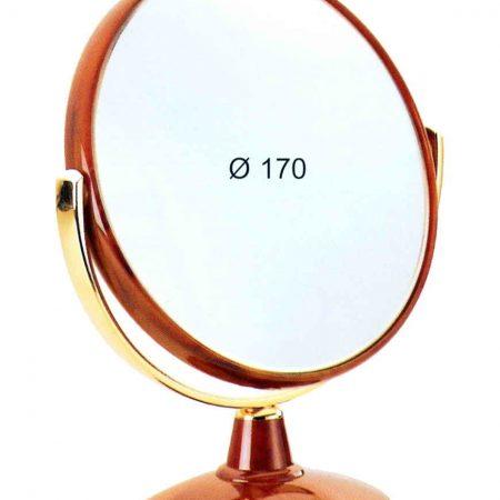 Зеркало настольное черепаховое Увеличение x3 Диаметр 170 Код 78496.3
