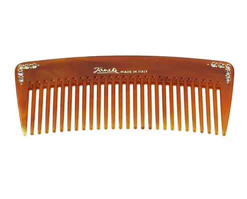 Tortoise wide teeth styling comb Cod. 78855 STR