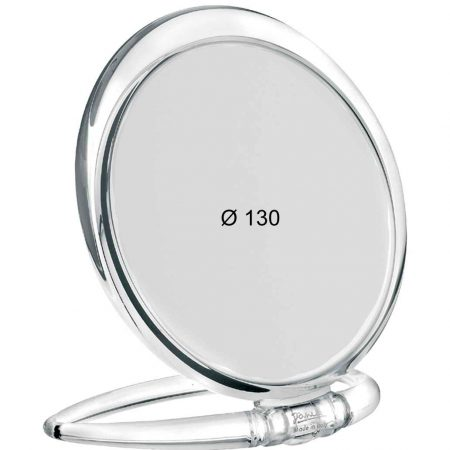 Trasparent table mirror, Magnification X3, Diameter 130 Cod. 80444.3 TRA