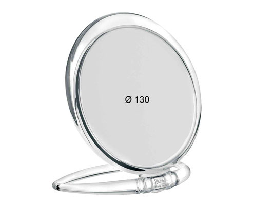 Trasparent table mirror, Magnification X6, Diameter 130 Cod. 80444.6 TRA