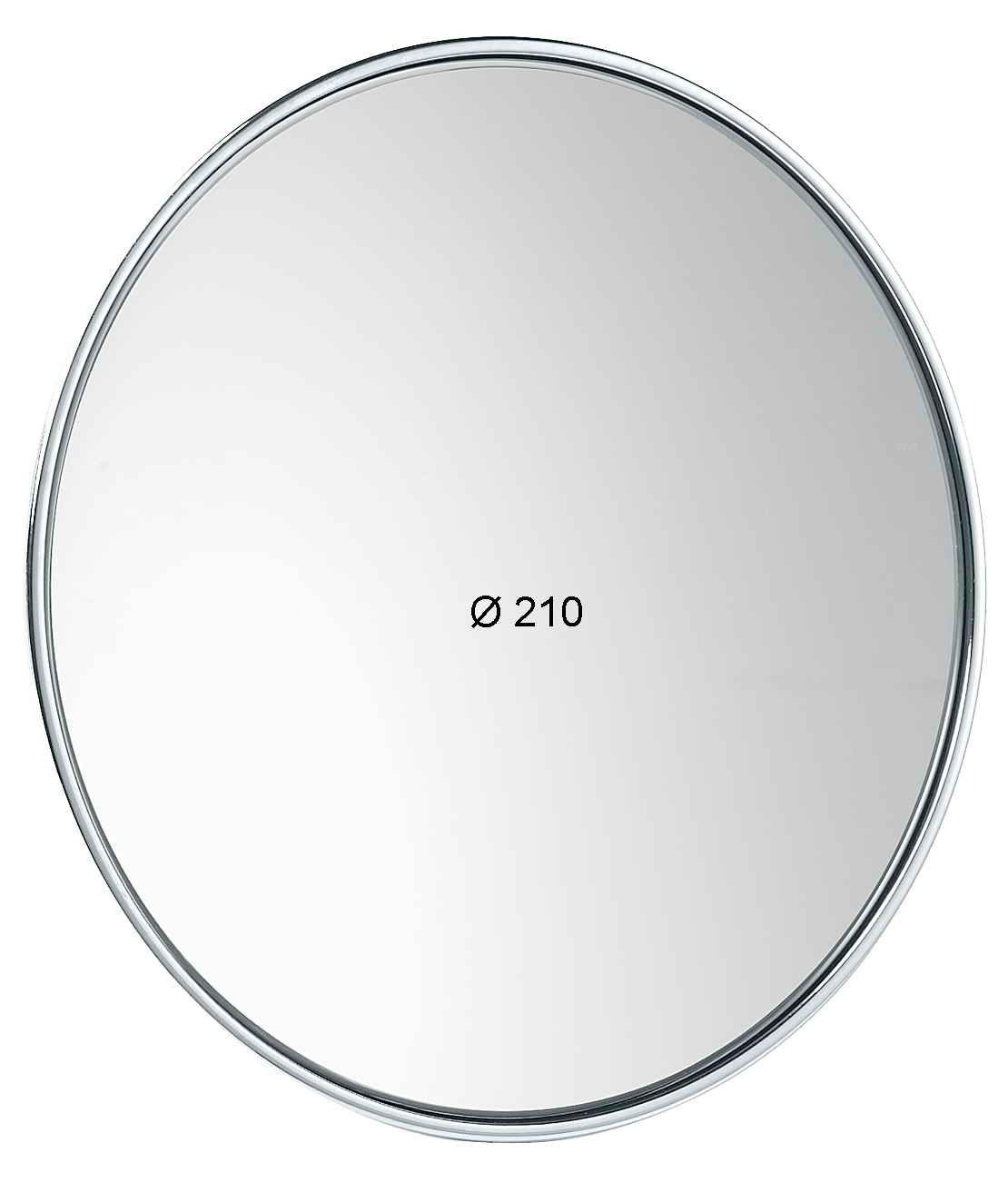 Specchio con ventose ingrandimento x6 diametro 210 cod - Specchio ingrandimento ...