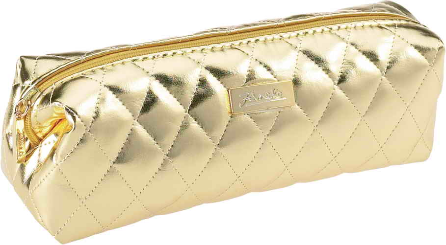 Golden quilted pouch A1929VT