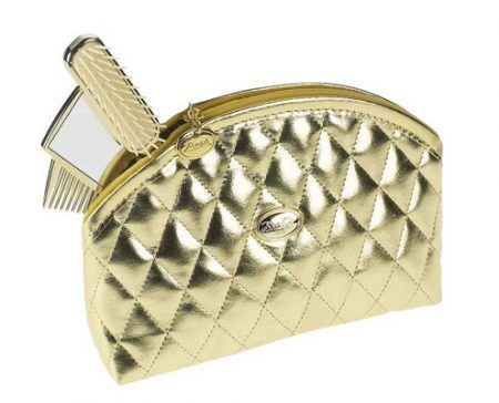 Golden quilted pouch, big Cod. A1965