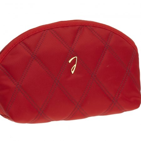 Small quilted red pouch, empty Cod. A3111VT BLU