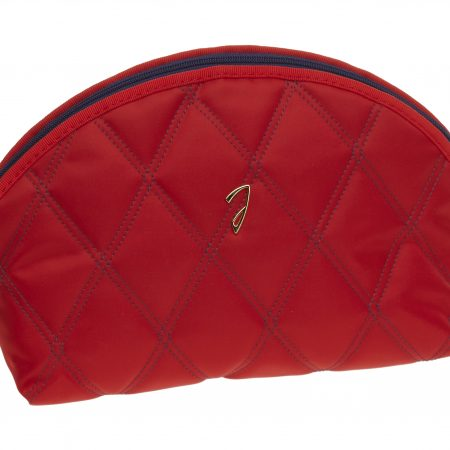 Quilted red pouch, empty Cod. A3112VT ROS