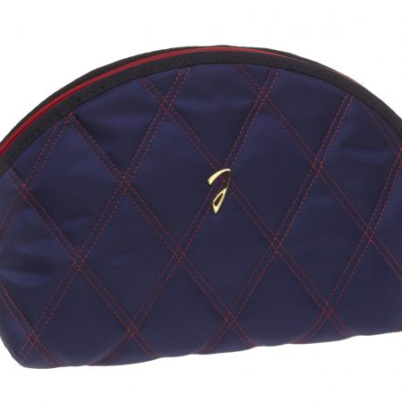 Quilted blu pouch, empty Cod. A3112VT BLU