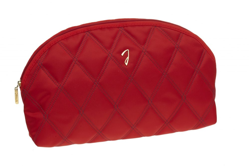 Large quilted red pouch, empty Cod. A3113VT ROS
