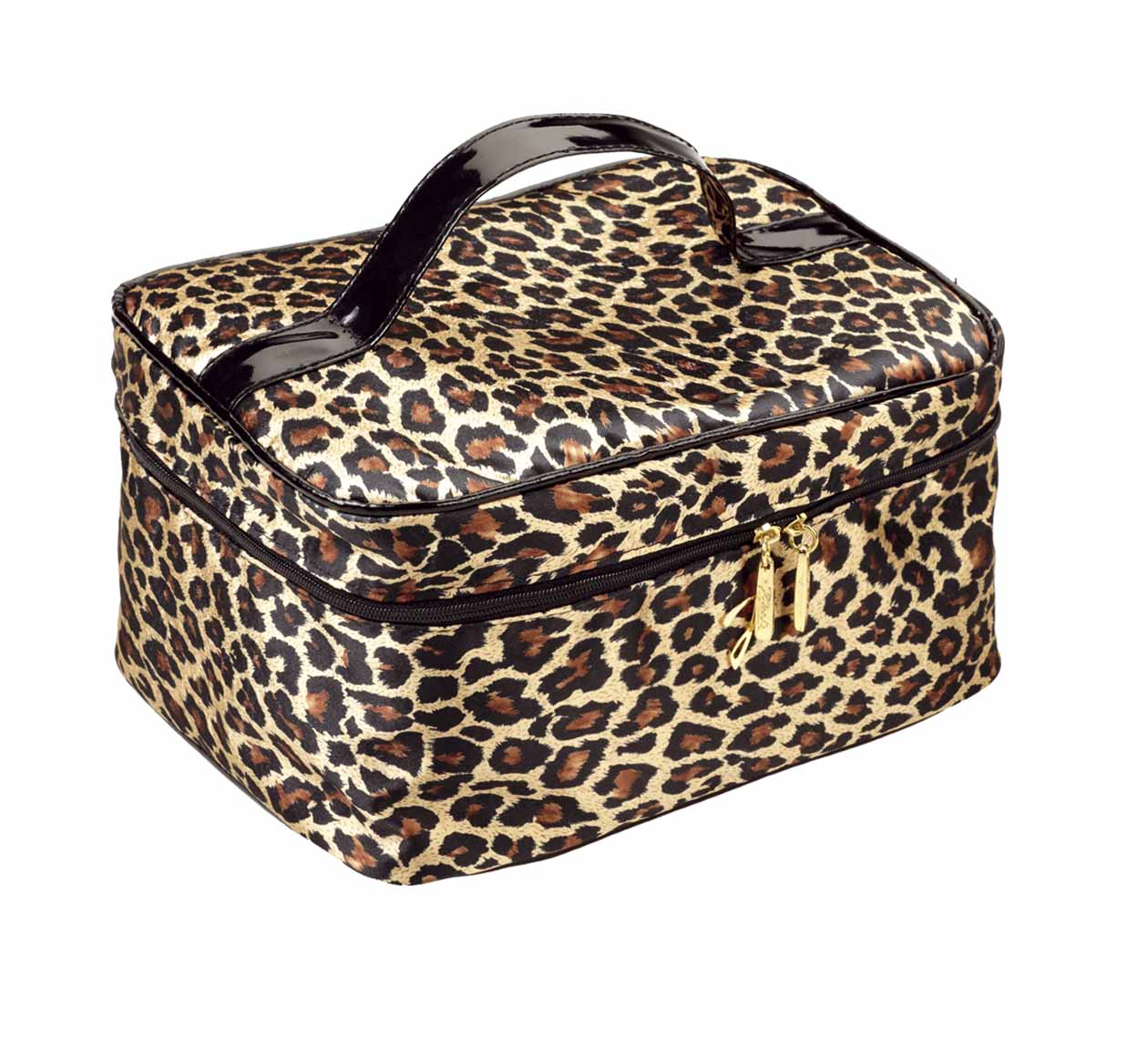 Spotted quilted travel bag, medium Cod. A4352VT