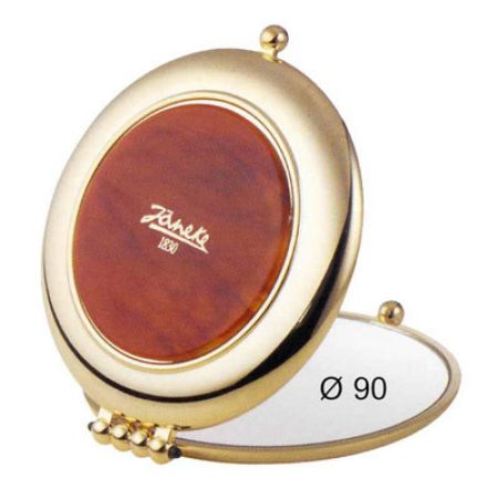 Зеркало золотисто-черепаховое Увеличение x3 Диаметр 90 Код AU453.3 DBL
