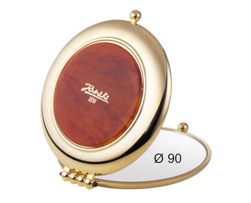 Tortoise-shell colour and gold mirror, Magnification x 3, Diameter 90 Cod.AU453.3 DBL