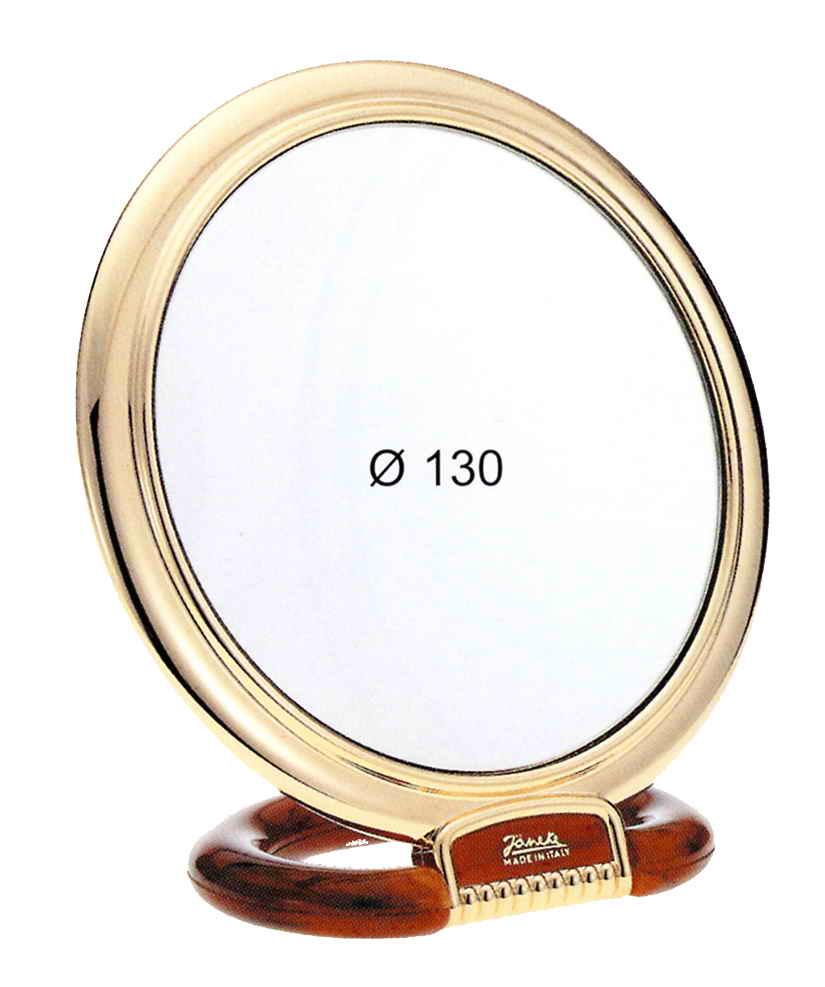Specchio da tavolo dorato e tartaruga ingrandimento x6 - Specchio ingrandimento ...