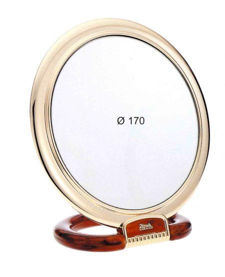 Зеркало настольное золотисто-черепаховое Увеличение x3 Диаметр 170 Код AU493.3 DBL