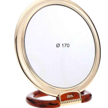 Зеркало настольное золотисто-черепаховое Увеличение x6 Диаметр 170 Код AU493.6 DBL