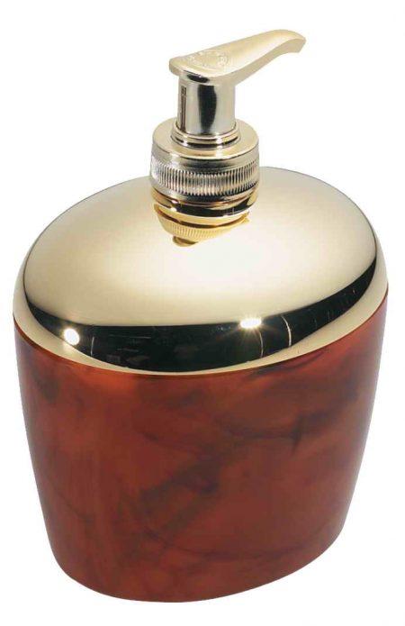 Диспенсер для жидкого мыла золотисто-черепаховый Код AU539DBL