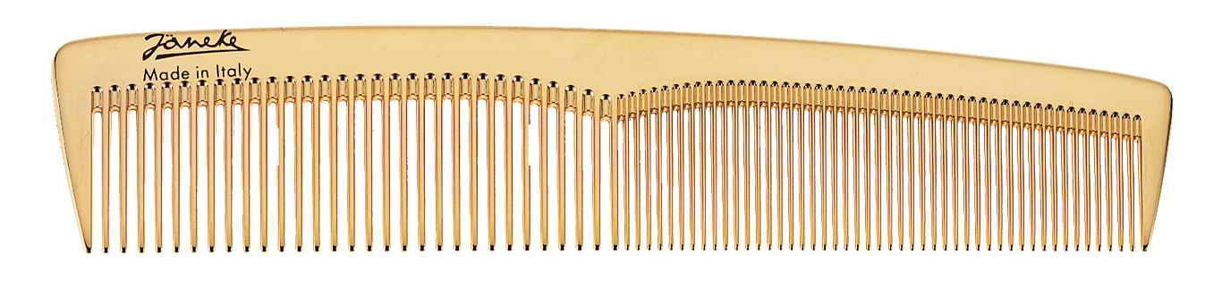 Golden toilette comb bigger size Cod. AU803