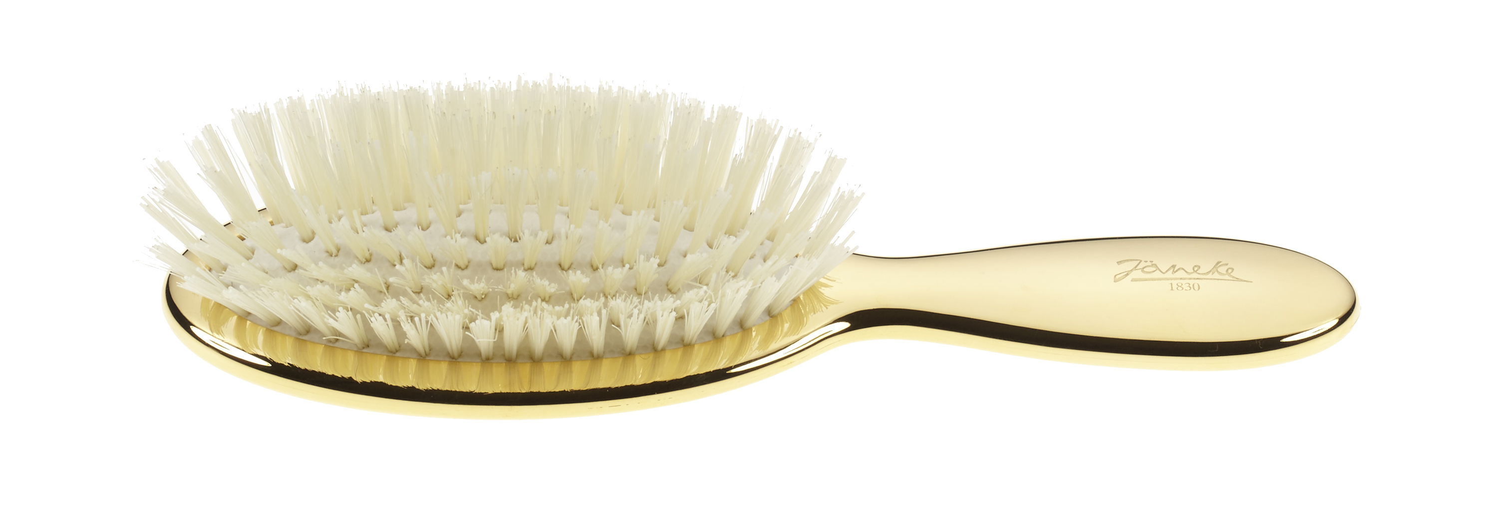Golden brush, small, with white bristles and nylon reinforcemente Cod. AUSP21SF BIA