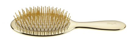 Golden pneumatic brush with gold pins Cod. AUSP22 G